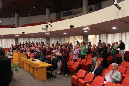 Standing Ovation for City Council and Mayor Rogero