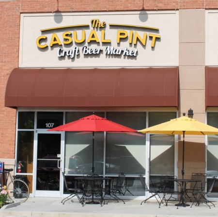 Casual Pint at their West Knoxville Location: Downtown Promises More of a Pub Atmosphere