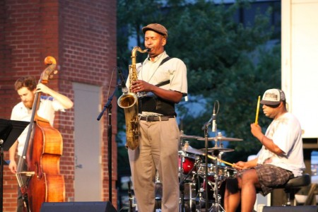 Jazz on the Square, Knoxville, June 2012