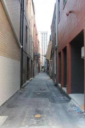 Armstrong Alley, Knoxville, October 2012