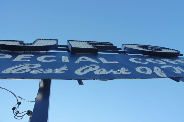 JFG Sign, Knoxville, Fall 2012