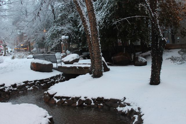 Krutch Park, Knoxville, January 2013