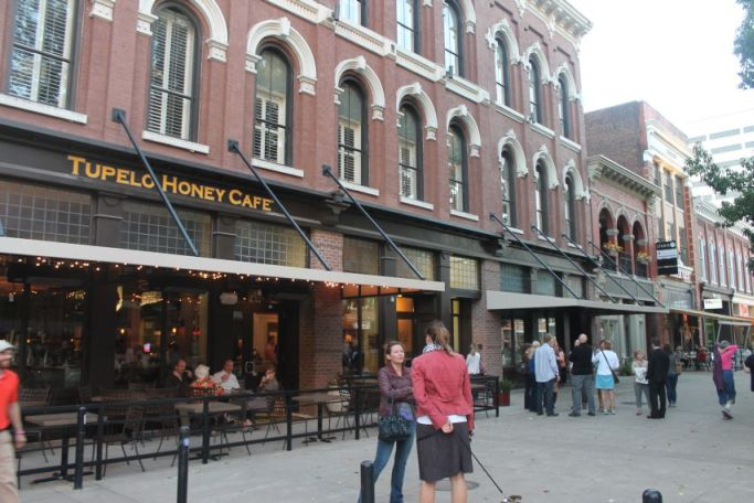 Tupelo Honey, 1 Market Square, Knoxville, 2012