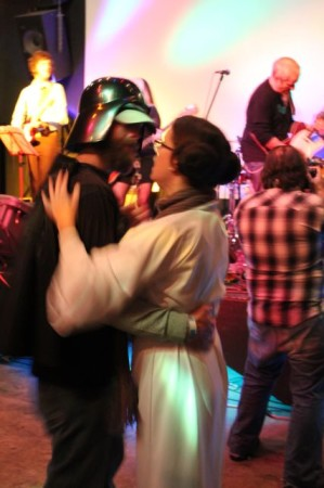 Darth Vader and Princess Leia, Waynestock III, Relix Theater, Knoxville, February 2013