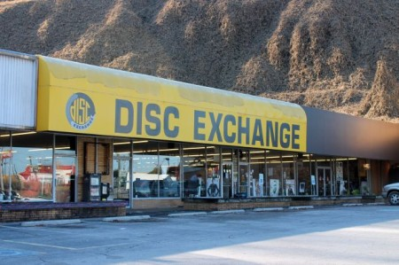 Disc Exchange, Chapman Highway, Knoxville, December 2012