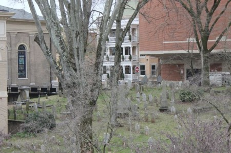 First Presbyterian Cemetery, Knoxville, February 2013