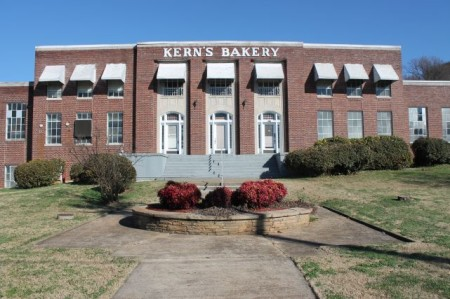 Kern's Bakery Building, Chapman Highway, Knoxville, December 2012