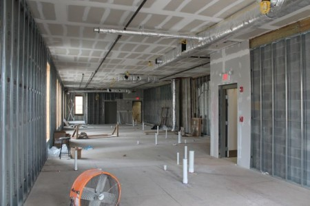 Second Floor Construction, 36 Market Square, Knoxville, March 2013