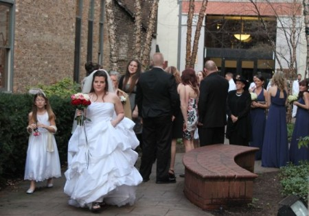 Wedding Party, Market Square, Knoxville, February 2013