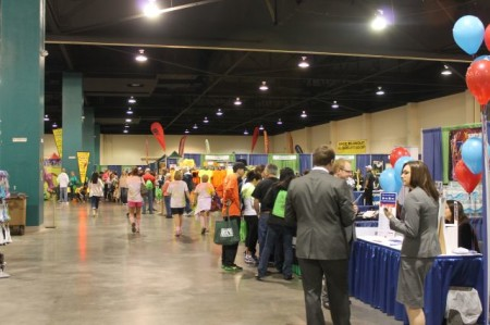 Health and Fitness Expo, Knoxville Marathon, April 2013