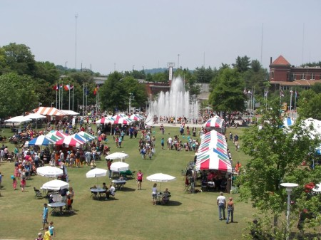 Children's Festival of Reading, World's Fair Park, Knoxville, 2011