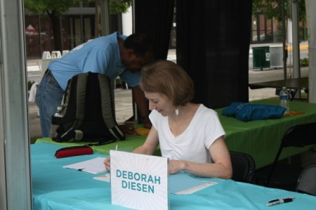 Deborah Diesen, Children's Festival of Reading, Knoxville, May 2013