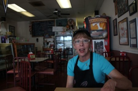 Donna Sullivan, Hot Bagel Company, Oak Ridge, May 2013