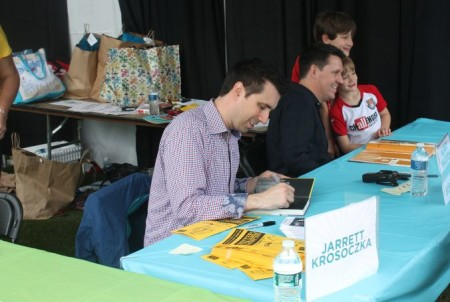 Jarrett Krosoczka and Bob Shea, Children's Festival of Reading, Knoxville, May 2013