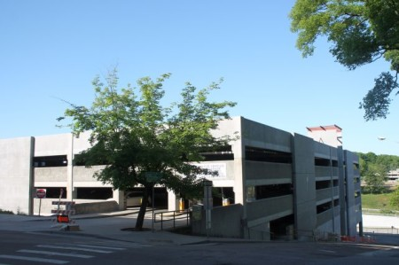 State Street Parking Garage, Knoxville, May 2013