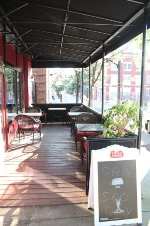 Front Porch, Coffee and Chocolate's Second Location, 416 W. Clinch Avenue, Knoxville, June 2013