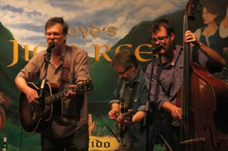 RB Morris, Hector Qirko, Greg Horne and Daniel Kimbro, Boyd's Jig and Reel, Knoxville, May 2013
